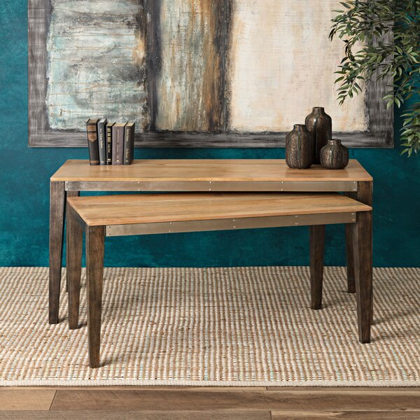 Judson Kane 2 Piece Console Table Set (Set of 2) by 17 Stories
