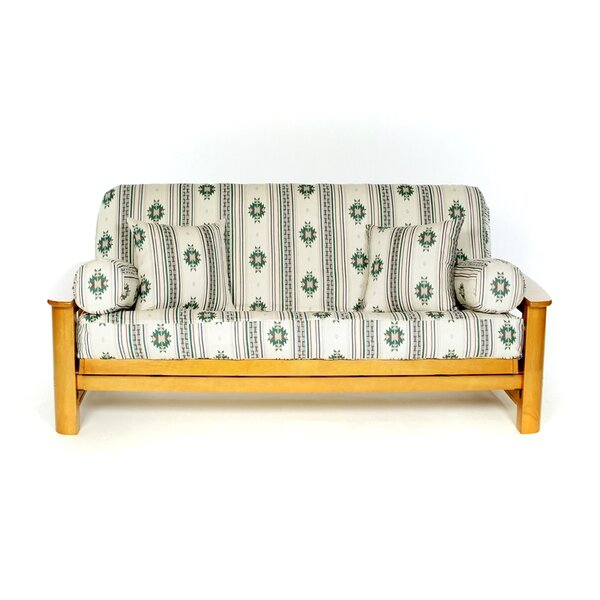 Alamo Box Cushion Futon Slipcover by Lifestyle Covers