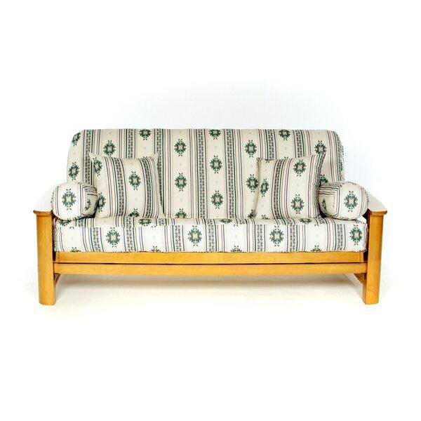 Alamo Box Cushion Futon Slipcover by Lifestyle Covers