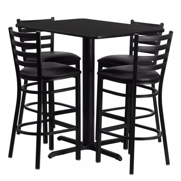 Best  Heming Rectangular Laminate 5 Piece Dining Set By Ebern Designs Cheap