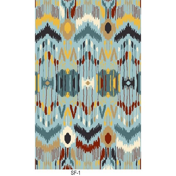 Ile des Pins Hand Woven Rug by Bloomsbury Market