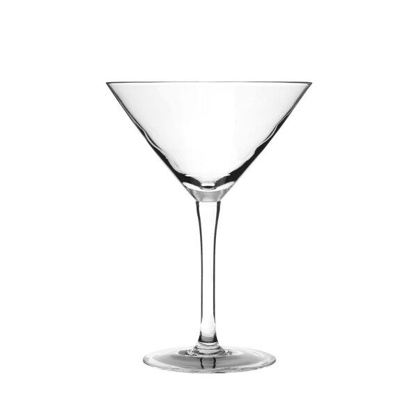 Regina Durobor 9 Oz. Glass Martini Glass (Set of 6) by Ten Strawberry Street
