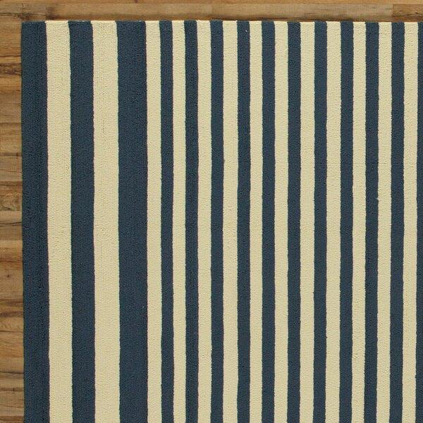 Maura Navy Indoor/Outdoor Rug by Birch Lane™