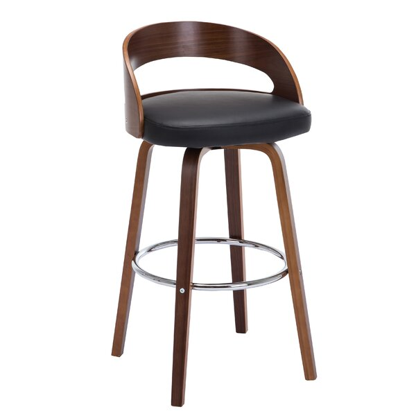 Wunderlich 28.2 Swivel Bar Stool (Set of 2) by George Oliver