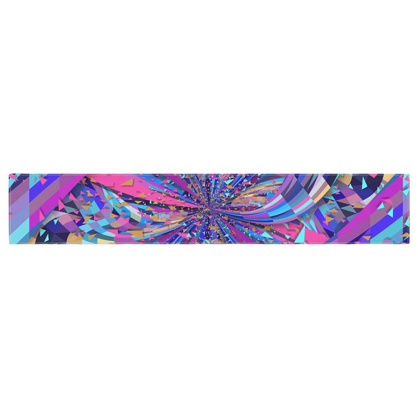 Danny Ivan Flavors Explosion Table Runner by East Urban Home