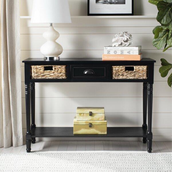 Santa Cruz Console Table By Beachcrest Home