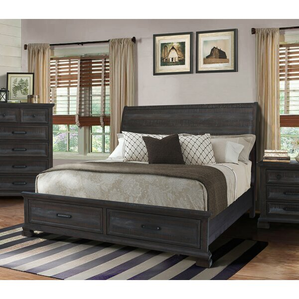 Upney Sleigh Bed by Gracie Oaks