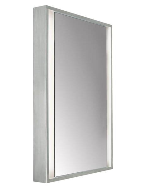 Siber Recessed with Incandescent 120V Bulb Accent Mirror by Tech Lighting