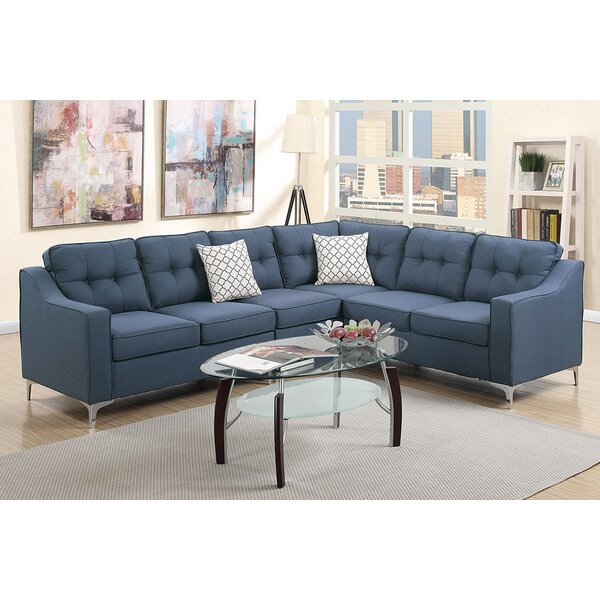 Beautiful Alongi Reversible Sectional by Ivy Bronx by Ivy Bronx