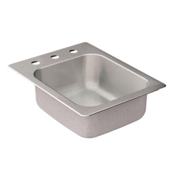 2000 Series Single Bowl Drop-In Kitchen Sink by Moen