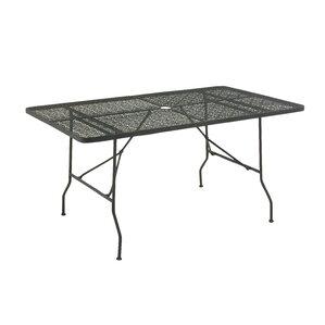 Metal Fold Outdoor Bar Table