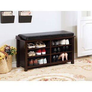 Savings Bamburgh Wood Storage Bench By Canora Grey