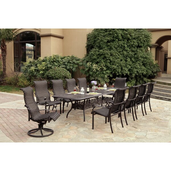 Kentland 11 Piece Dining Set by Darby Home Co