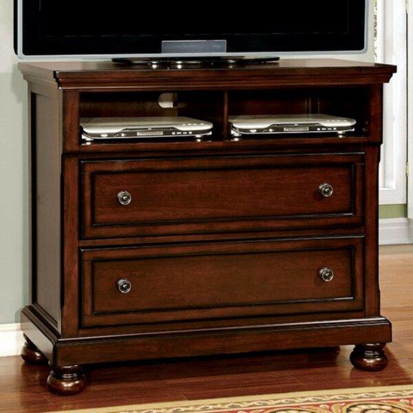 Erbe Wooden Media 2 Drawer Standard Dresser by Darby Home Co