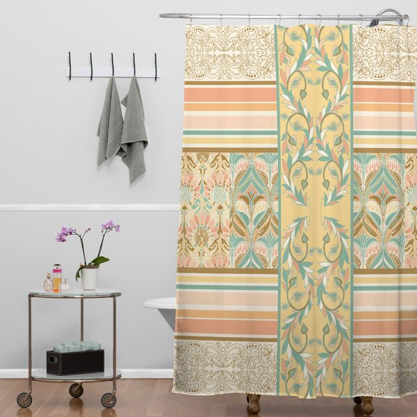 Jacqueline Maldonado Vintage Stripe Shower Curtain by Deny Designs