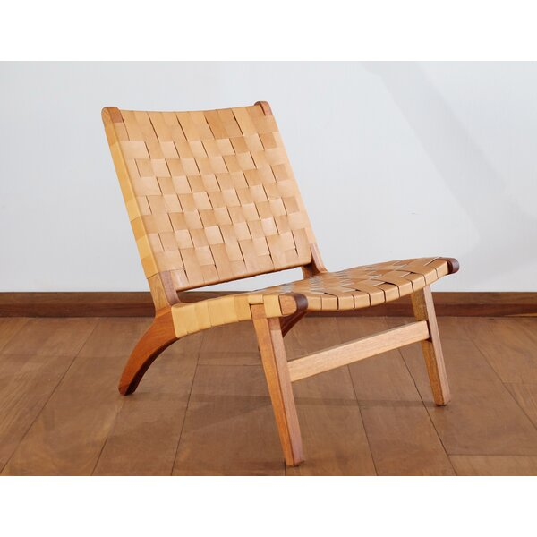 Natural Lounge Teak Patio Chair by Masaya & Co