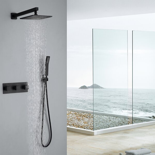 Temperature And Volume Shower Faucet By Watqen