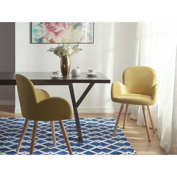 Bartel Upholstered Dining Chair (Set of 2) by George Oliver