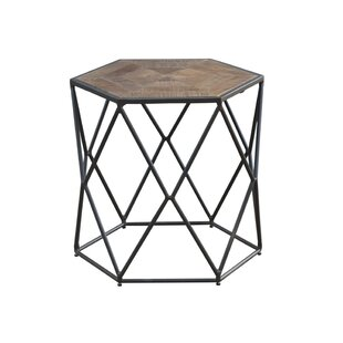 Reviews Caryl Hex End Table By Ivy Bronx