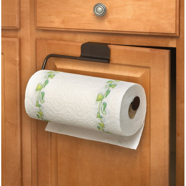 Over the Cabinet Paper Towel Holder by Mint Pantry