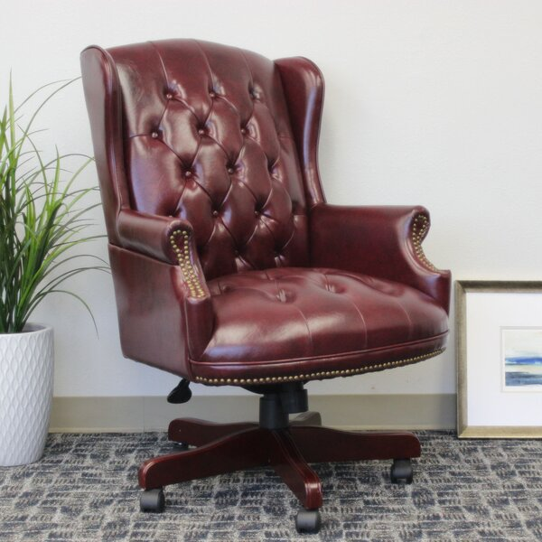 Gormley Executive Chair by Three Posts