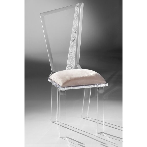 Hembree Upholstered Side Chair In Clear By Brayden Studio