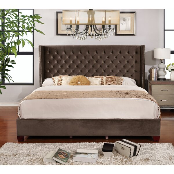 Grijalva Upholstered Platform Bed by Mercer41