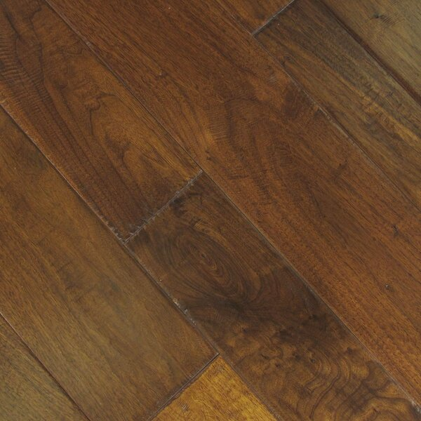 Hudson Bay Random Width Engineered Walnut Hardwood Flooring in Manitoba by Albero Valley
