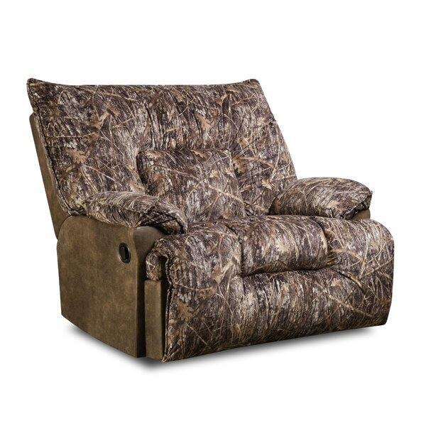 Bryce Manual Recliner by Simmons Upholstery by Loon Peak