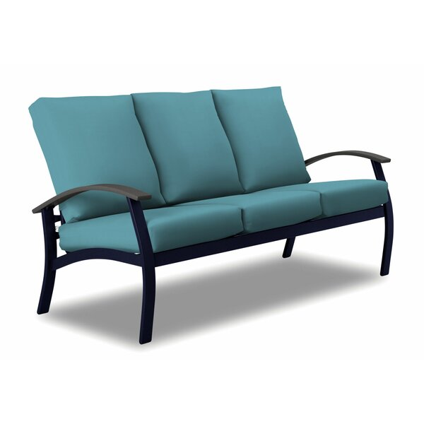 Belle Isle Patio Sofa with Cushions by Telescope Casual Telescope Casual