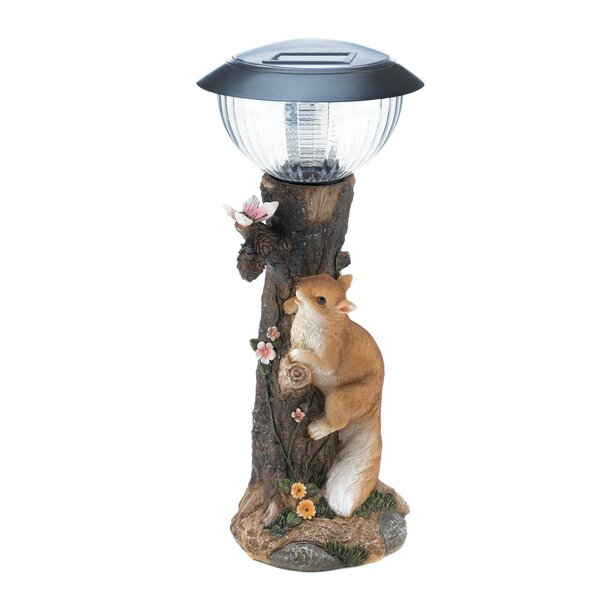 Squirrel Solar 1 LED Pathway Light by Zingz & Thingz