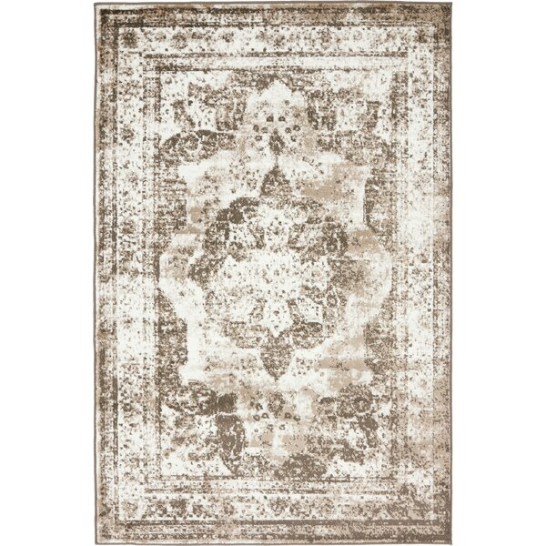 Brandt Light Brown Area Rug By Mistana.