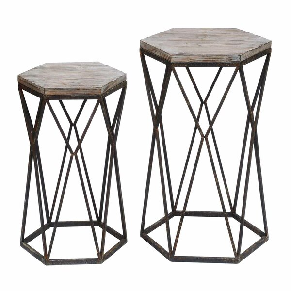 Nico 2 Piece End Table Set by Brayden Studio