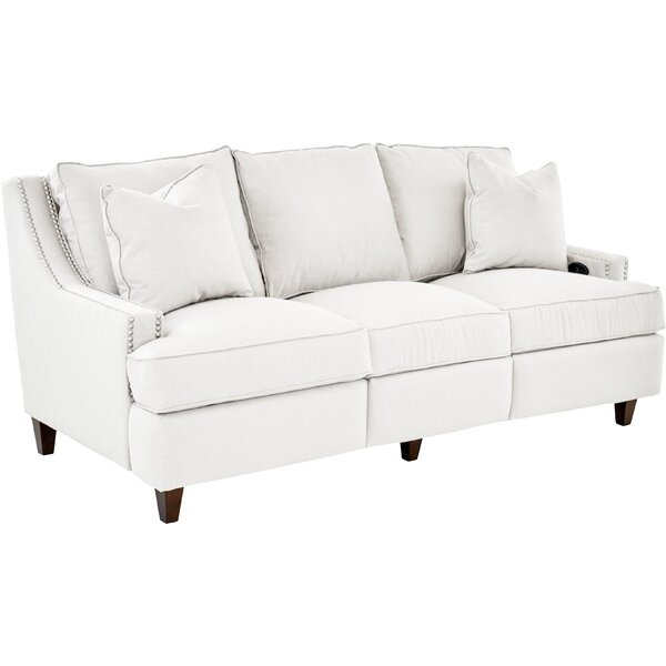 Tricia Power Hybrid Reclining Sofa by Wayfair Custom Upholstery��