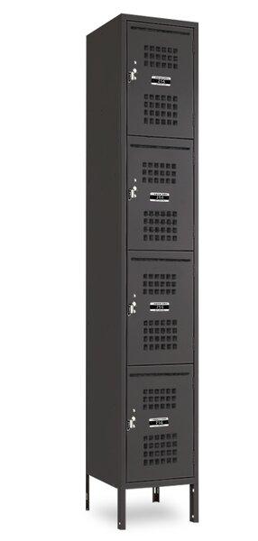 4 Tier 1 Wide Employee locker by Jorgenson Lockers4 Tier 1 Wide Employee locker by Jorgenson Lockers