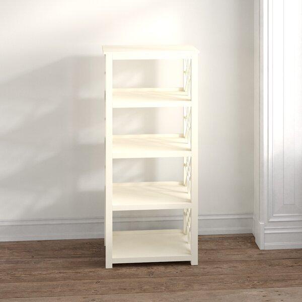 Albro 4 Shelf Wooden Standard Bookcase By Ophelia & Co.