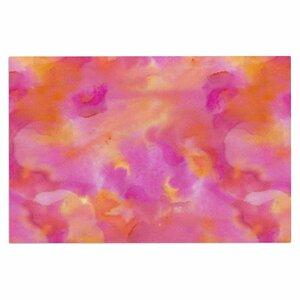 Danii Pollehn Color Explosion Watercolor Doormat