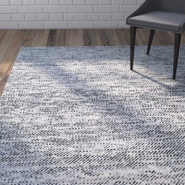 Chianna Handmade Gray Area Rug by Zipcode Design