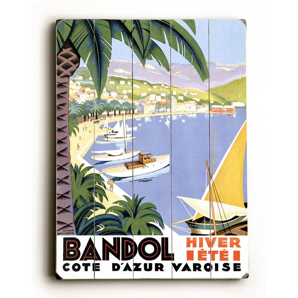 Bandol Vintage Advertisement by Bay Isle Home