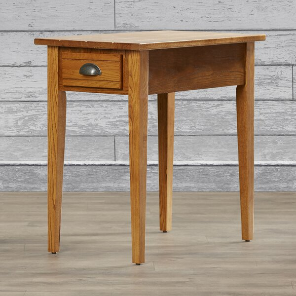Apple Valley Chairside End Table by Charlton Home