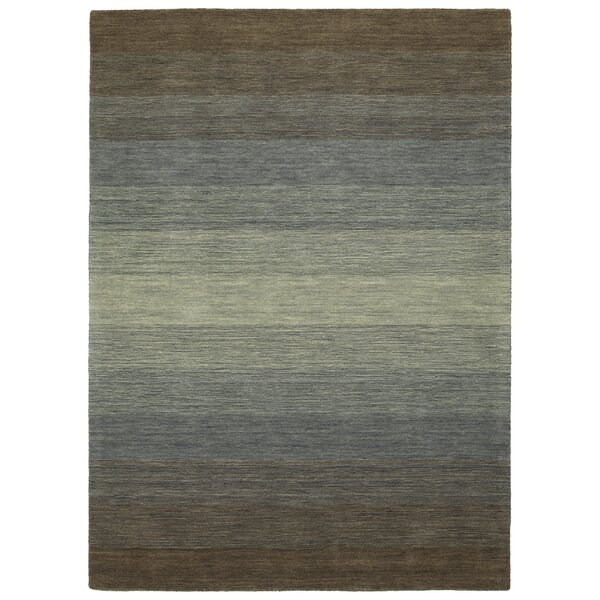 Fortune Hand Tufted Wool Brown Area Rug by 17 Stories