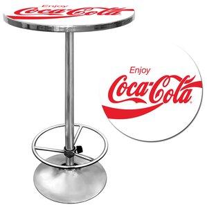 Enjoy Coke Pub Table by Trademark Global