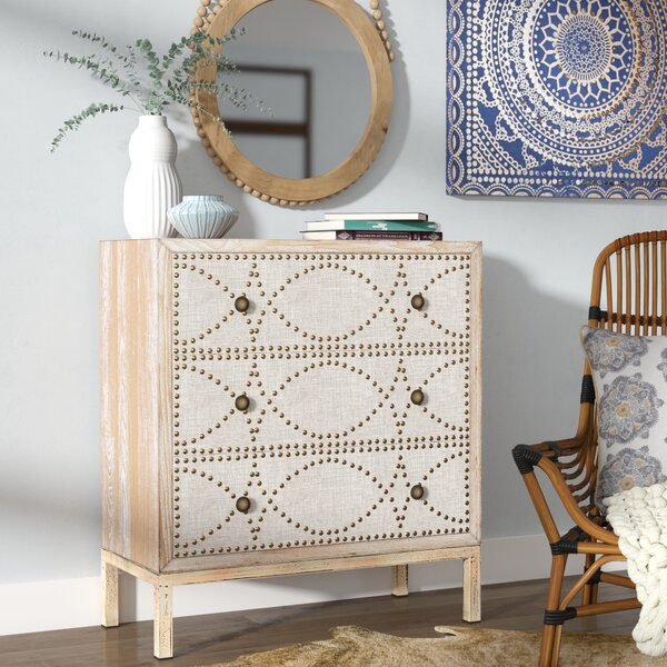 Cendrillon 3 Drawer Chest by Mistana