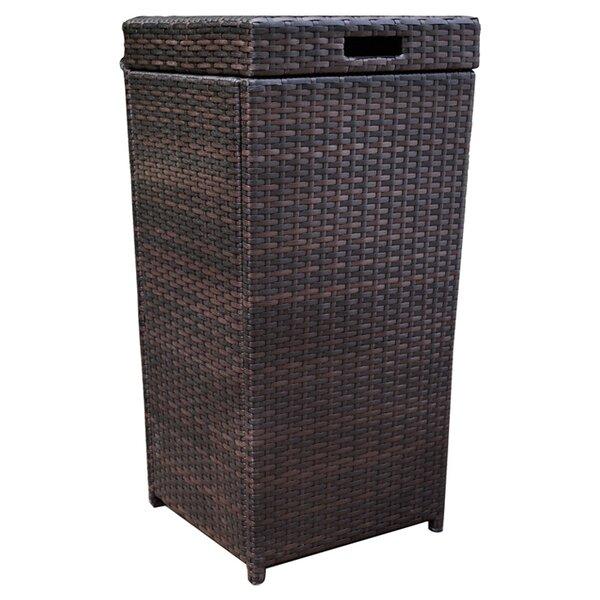 Mercury Row Belton Manual Wicker Trash Can Reviews Wayfair