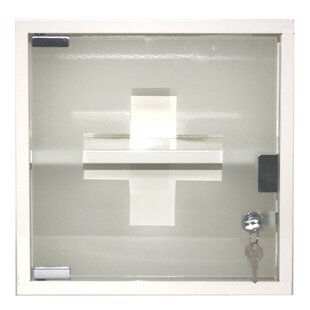 Lockable 30 5cm X Surface Mount Flat Medicine Cabinet