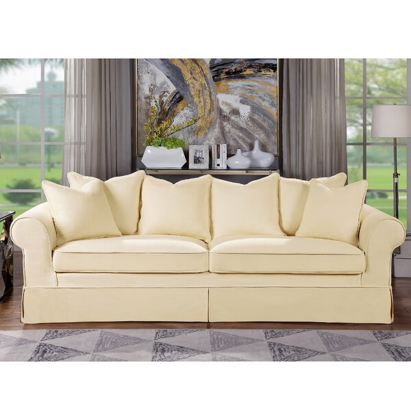 Get Name Brand Milla Sofa by Highland Dunes by Highland Dunes
