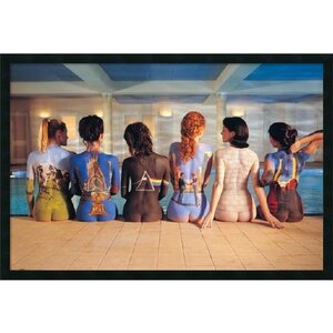 Pink Floyd Back Catalog Framed Photographic Print by Buy Art For Less
