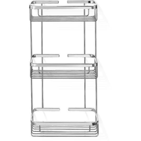 Knopf Shower Caddy Triple Shelf Organizer by Symple Stuff