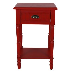 Read Reviews Rosas 1 Drawer Nightstand By August Grove