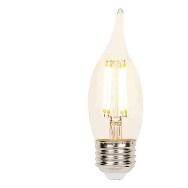 E26 Dimmable LED Edison Candle Light Bulb (Set of 6) by Westinghouse Lighting